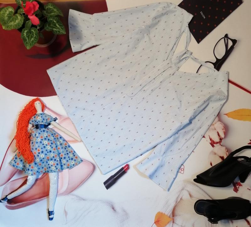 Модная блуза falmer heritage, хлопок, размер 20 - Фото 7