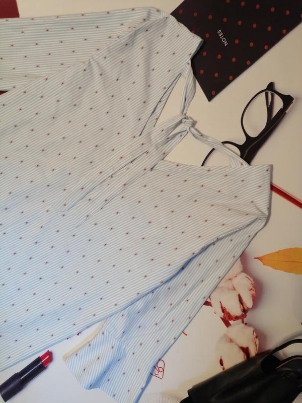 Модная блуза falmer heritage, хлопок, размер 20 - Фото 8
