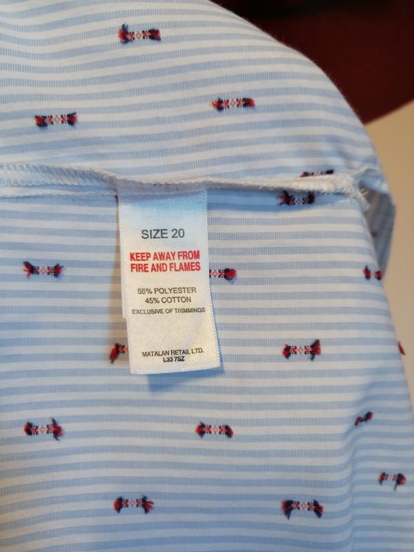 Модная блуза falmer heritage, хлопок, размер 20 - Фото 10