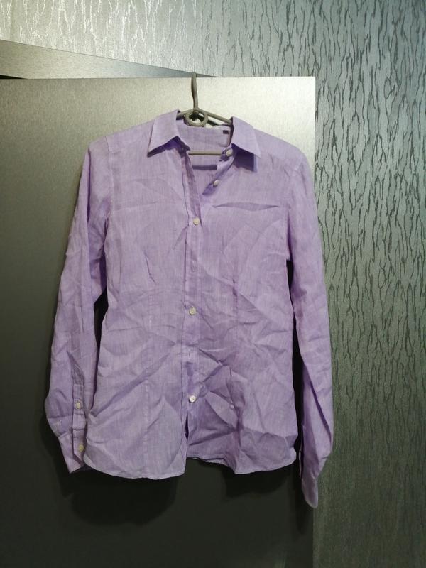 Рубашка из чистого льна