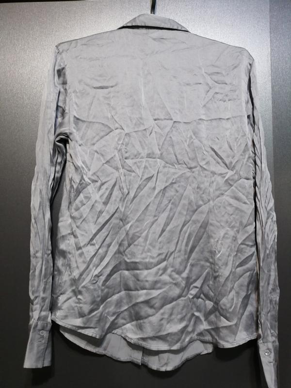 Шелковая рубашка - Фото 5