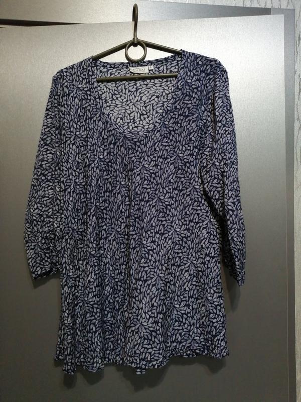 Новая блуза из чистой вискозы