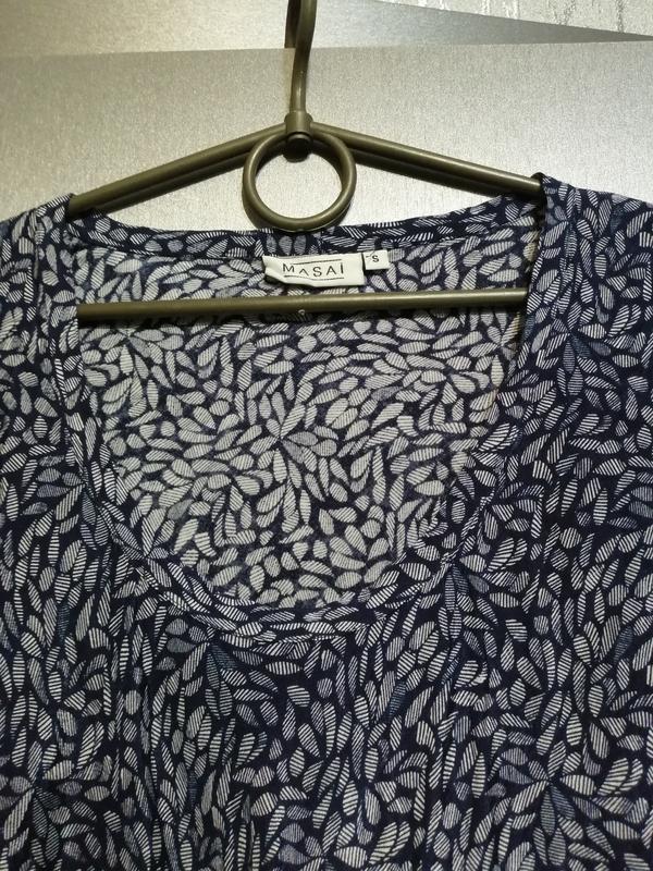 Новая блуза из чистой вискозы - Фото 2