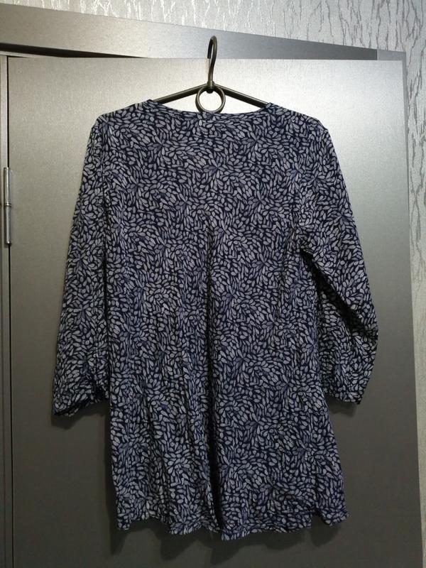 Новая блуза из чистой вискозы - Фото 5
