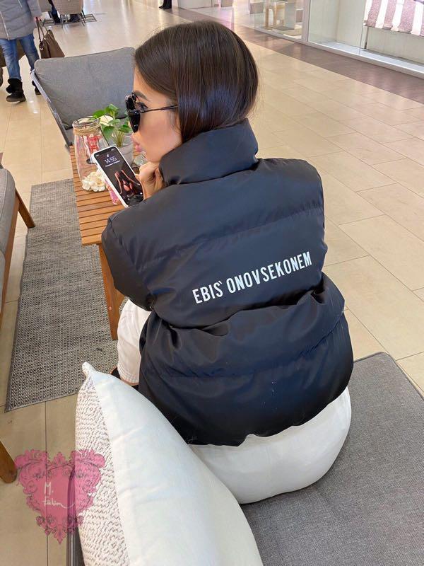Женская куртка, куртка, весенняя куртка, короткая куртка - Фото 5