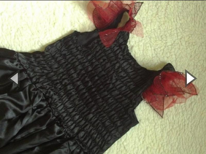 Платье костюм для костюмированной вечеринки черное ведьмы - Фото 2