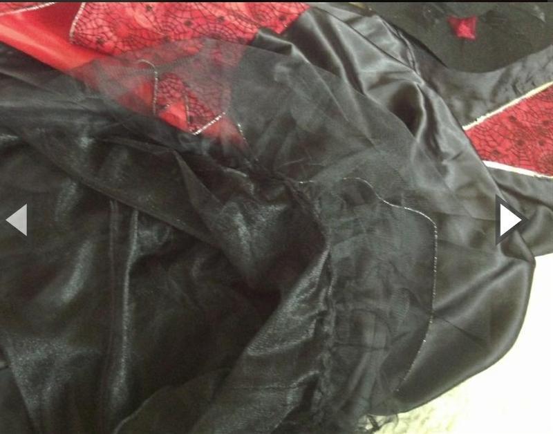 Платье костюм для костюмированной вечеринки черное ведьмы - Фото 3