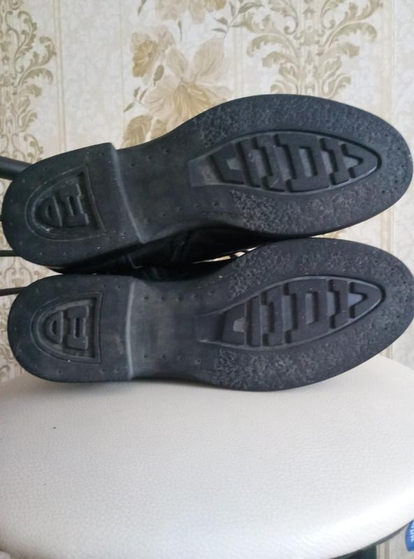 Торг !!!теплые зимние сапоги - ботинки кожа - Фото 4