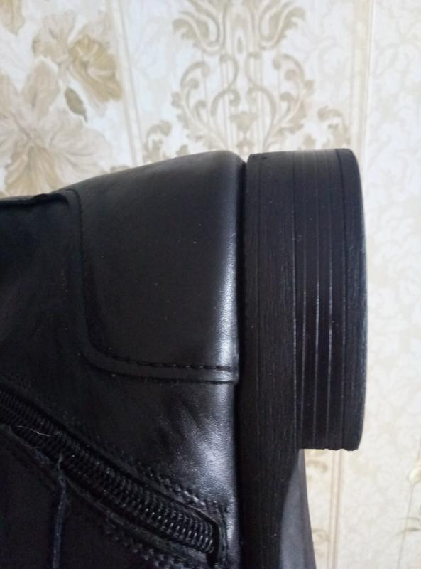 Торг !!!теплые зимние сапоги - ботинки кожа - Фото 5