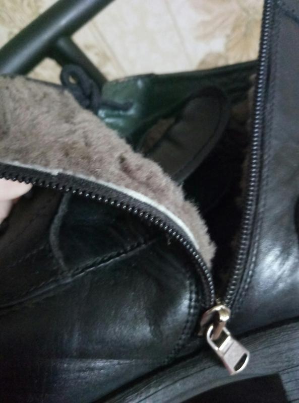 Торг !!!теплые зимние сапоги - ботинки кожа - Фото 6