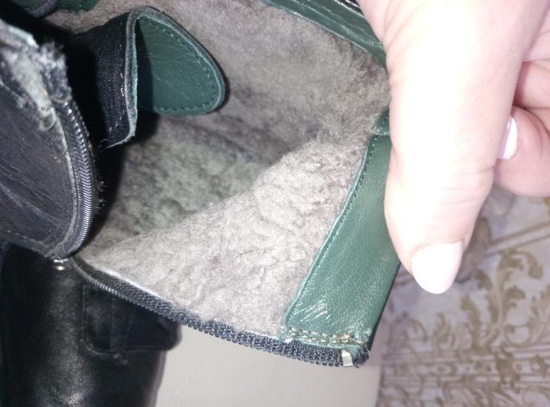Торг !!!теплые зимние сапоги - ботинки кожа - Фото 7