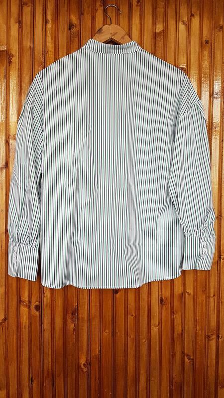 Рубашка  mango в полоску - Фото 2