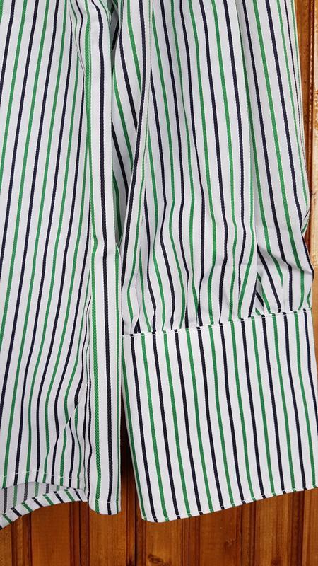 Рубашка  mango в полоску - Фото 5
