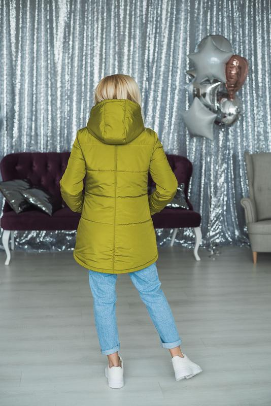 Куртка женская весна/осень - Фото 4