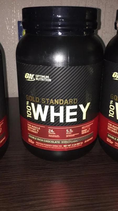 Protein Optimum Nutrition Gold Standard 100% протеин 900г.