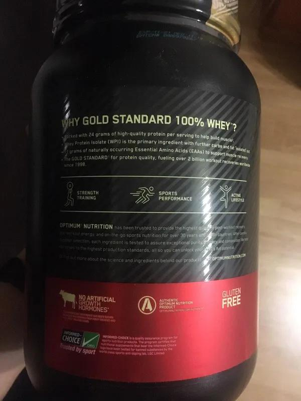 Protein Optimum Nutrition Gold Standard 100% протеин 900г. - Фото 4