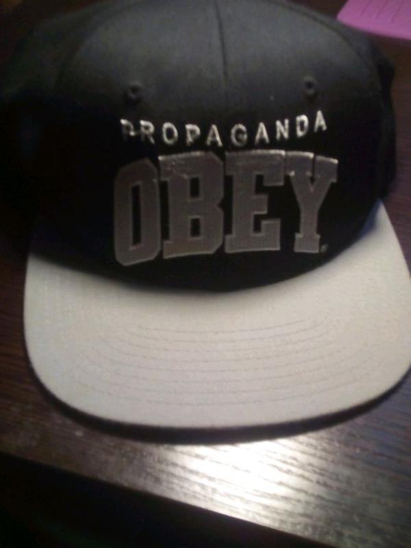 Бейсболка obey prapoganda original