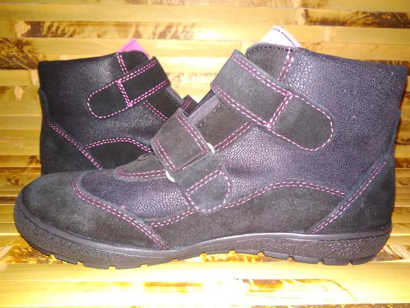 Billowy ботинки еврозима испания черные замша нубук - Фото 3