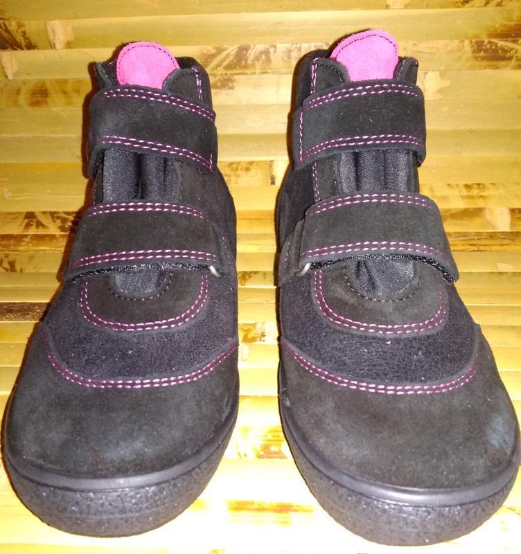 Billowy ботинки еврозима испания черные замша нубук - Фото 4