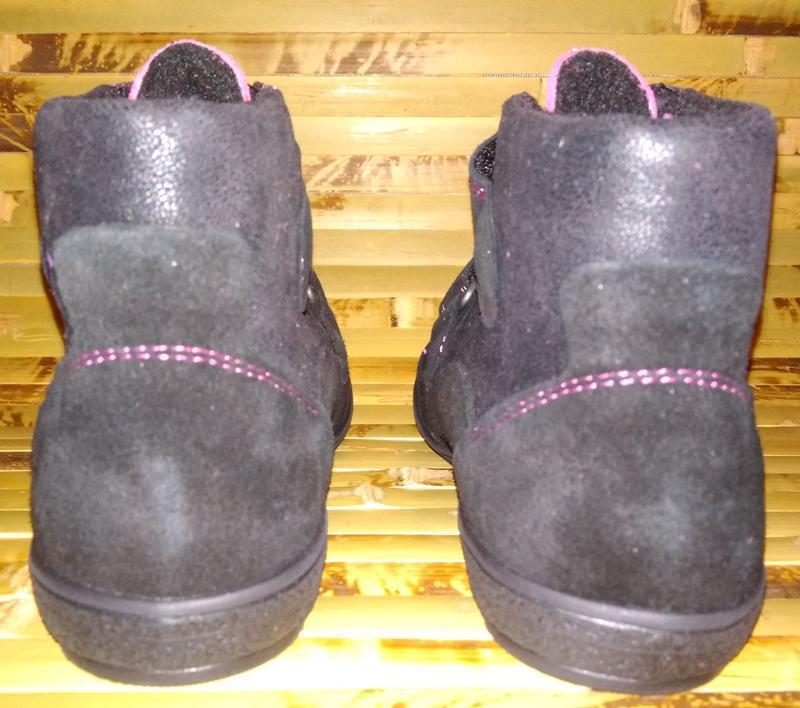 Billowy ботинки еврозима испания черные замша нубук - Фото 5