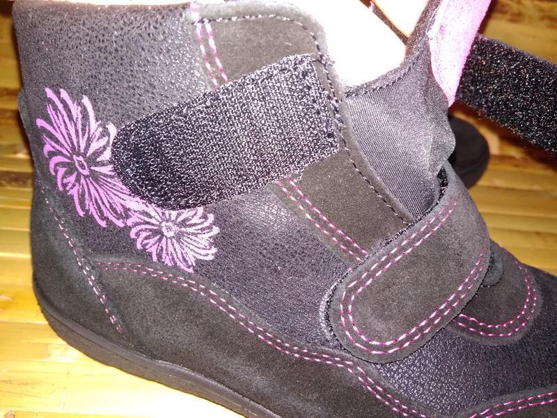 Billowy ботинки еврозима испания черные замша нубук - Фото 6