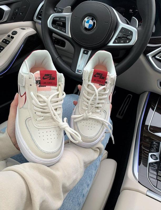 Шикарные женские кожаные кроссовки/ кеды nike 😍 (весна/ лето/ ... - Фото 8