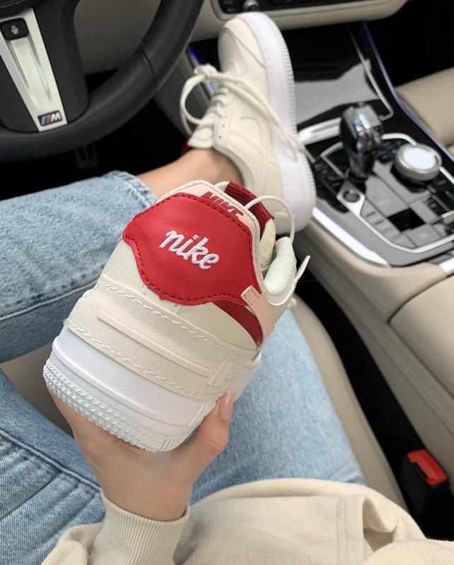 Шикарные женские кожаные кроссовки/ кеды nike 😍 (весна/ лето/ ... - Фото 9