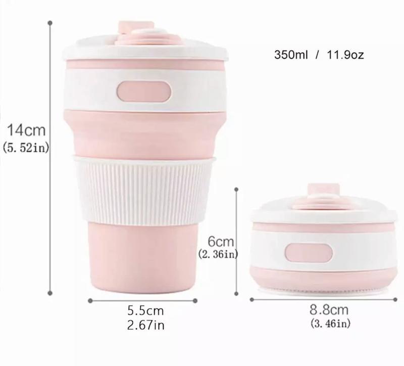 Складывающиеся чашки для кофе с собой - Фото 2