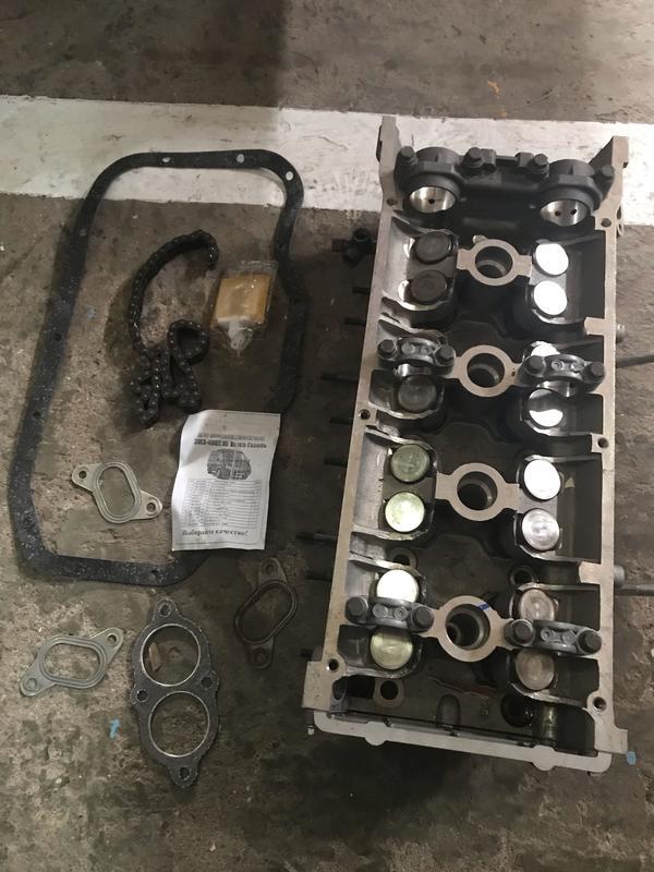 Новая головка на двигатель 406 УАЗ