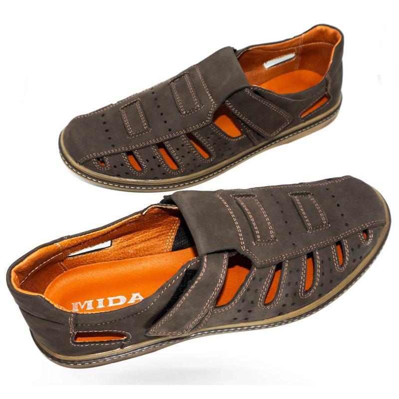 Мужские сандалии mida - Фото 3