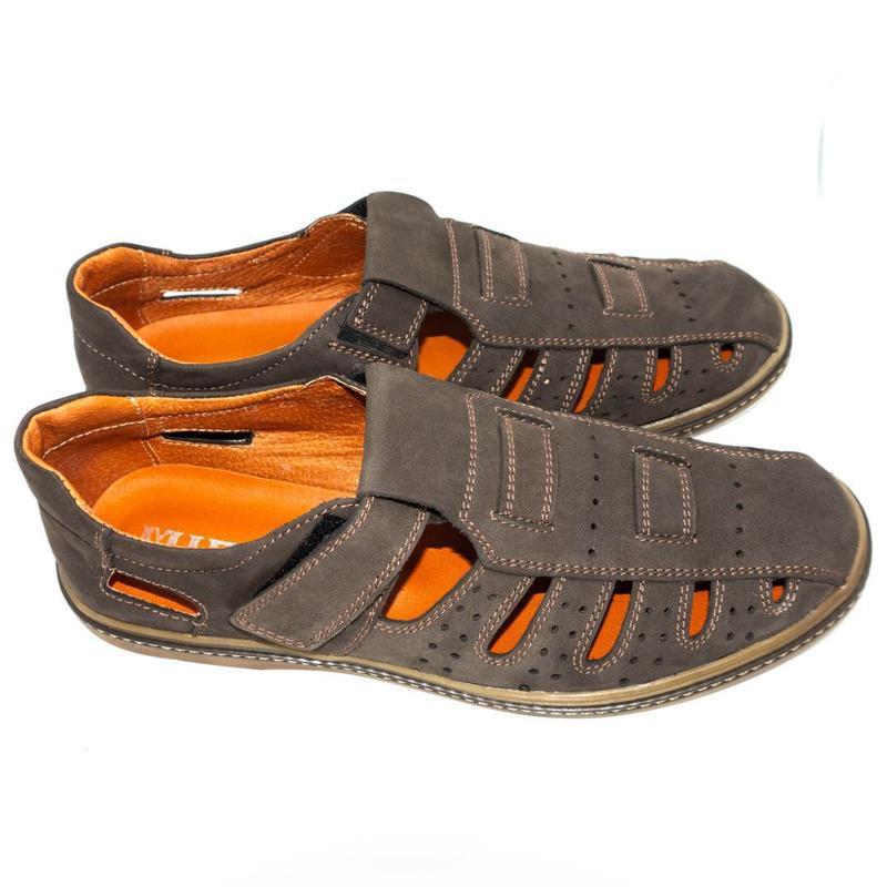 Мужские сандалии mida - Фото 4