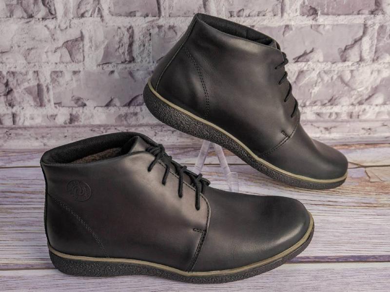 Зимние кожаные ботинки - Фото 2