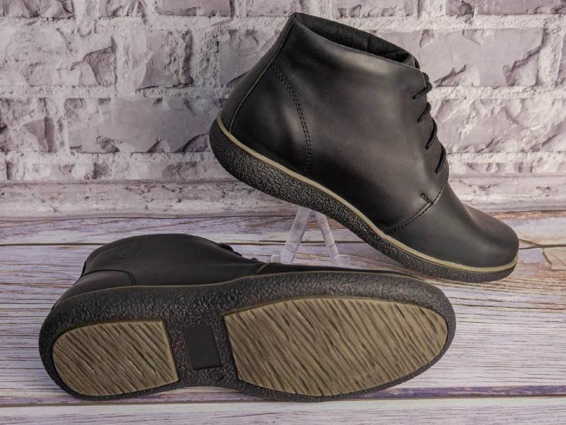 Зимние кожаные ботинки - Фото 3