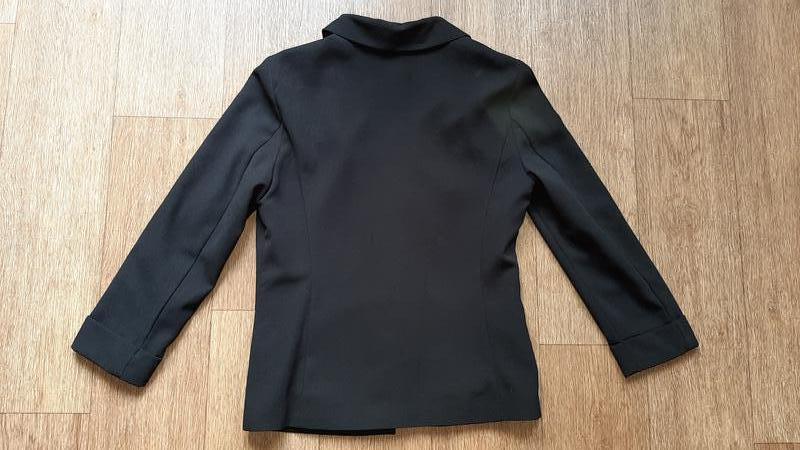 Пиджак чёрный стильный - Фото 2