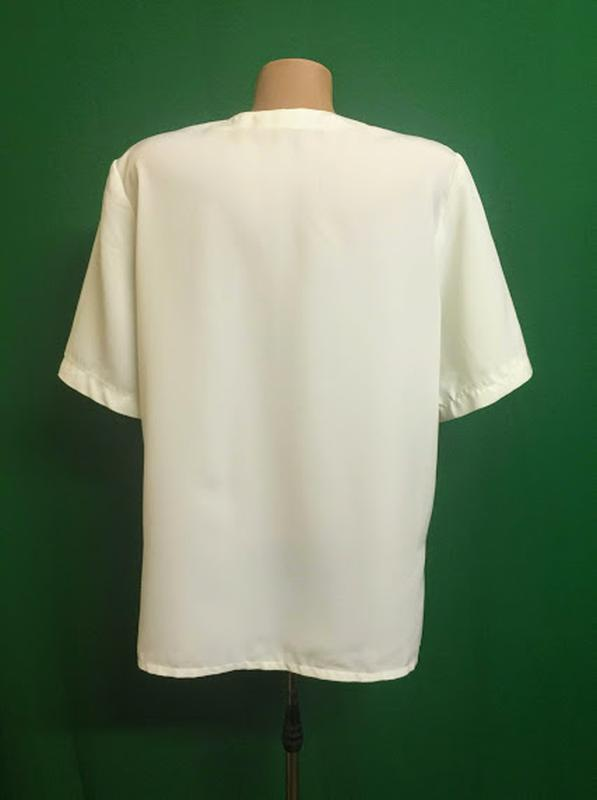 Нарядная блуза с прошвой - Фото 4