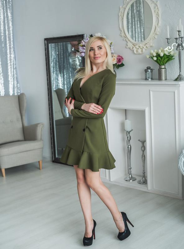Платье пиджак - Фото 3