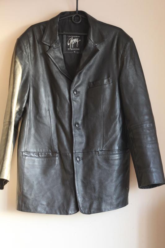 Кожаный пиджак gipsy 50-52 кожа наппа