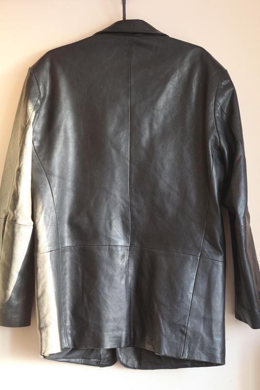Кожаный пиджак gipsy 50-52 кожа наппа - Фото 2