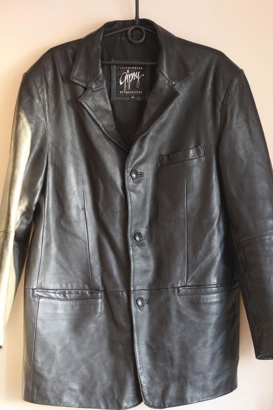 Кожаный пиджак gipsy 50-52 кожа наппа - Фото 3