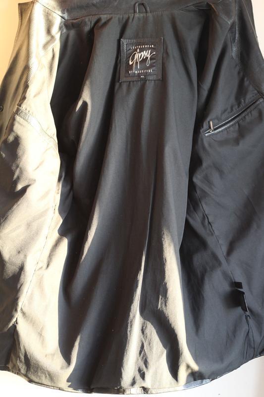 Кожаный пиджак gipsy 50-52 кожа наппа - Фото 4
