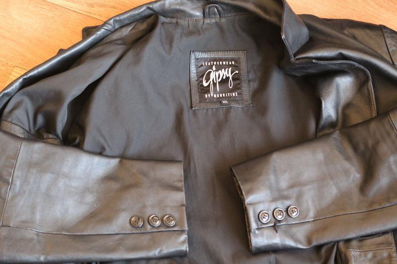 Кожаный пиджак gipsy 50-52 кожа наппа - Фото 5