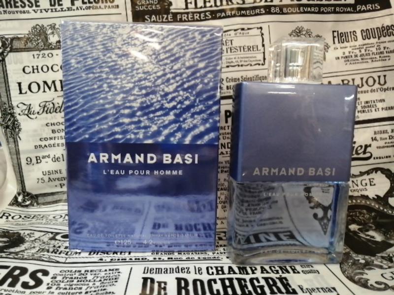 Armand basi l'eau pour homme туалетная вода (тестер с крышечкой) - Фото 7