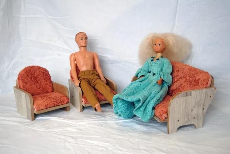 Набор кукольной мебели. Мебель для барби. - Фото 6