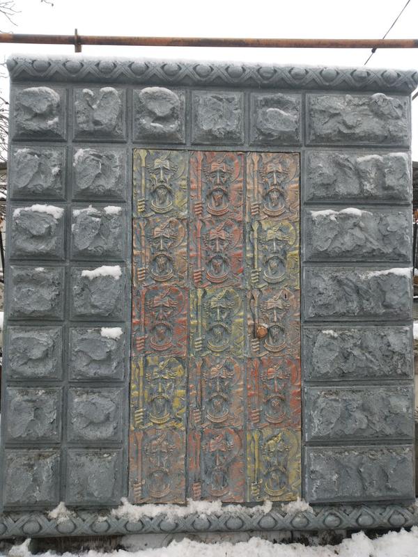 Ворота, заборы 3d.