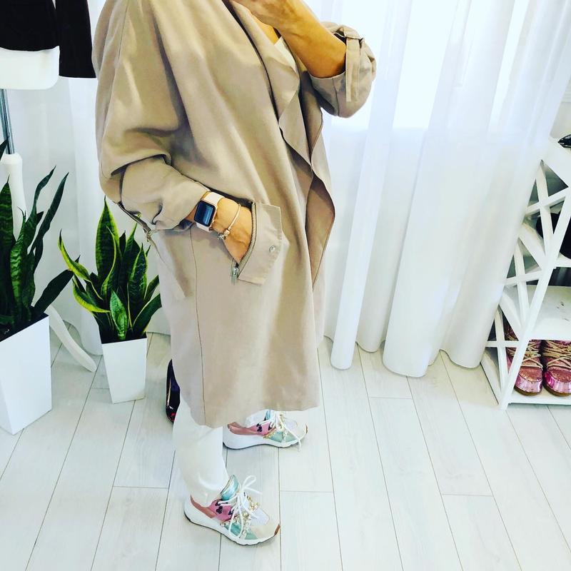 Невероятно стильное пальто кардиган кокон new look - Фото 2