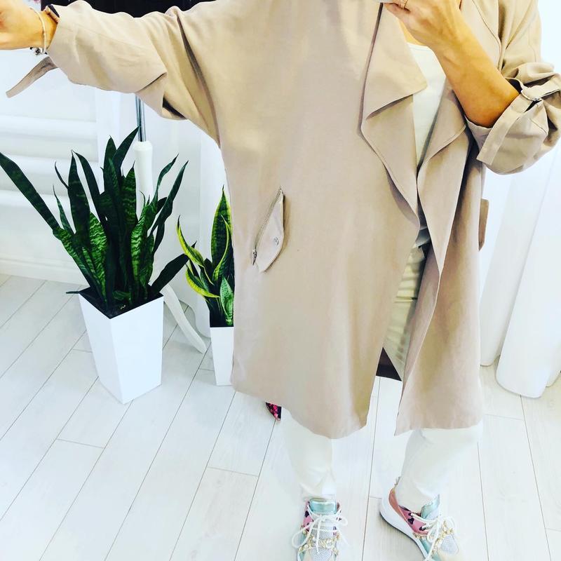 Невероятно стильное пальто кардиган кокон new look - Фото 5