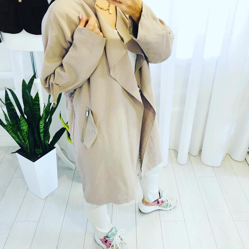Невероятно стильное пальто кардиган кокон new look - Фото 6