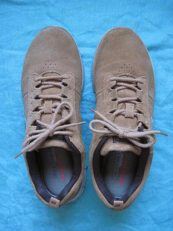 Skechers flex appeal (39) замшевые кроссовки женские оригинал - Фото 3