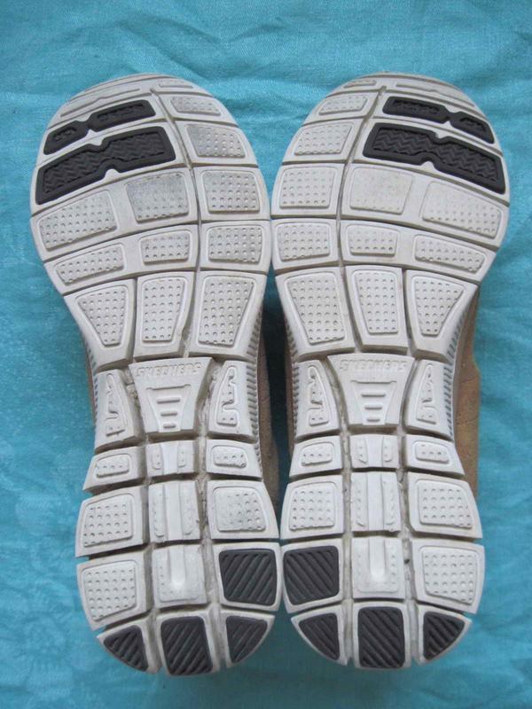 Skechers flex appeal (39) замшевые кроссовки женские оригинал - Фото 4