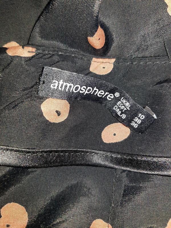 Широкие брюки палаццо высокая посадка - Фото 6
